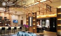 London Heathrow Airport: Plaza Premium Lounge Entry For One With Food and Drinks; With Option For Champagne and Massage
