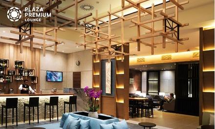 Londres-Heathrow : Accès à Plaza Premium Loungeavec collations, boissons - champagne et modelage en option pour 1 pers.