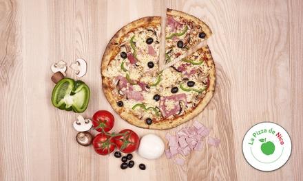 Pizza solo avec un soda et un dessert au choix pour 1, 2 ou 4 dès 7,90 € chez La Pizza De Nico Sainte Luce sur Loire