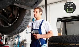Topline Pneus e Rodas: Topline Pneus e Rodas - Taguatinga Sul: alinhamento + balanceamento + rodízio de pneus + calibragem + check-up e mais