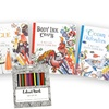 Creative Coloring Books (4-Pack)