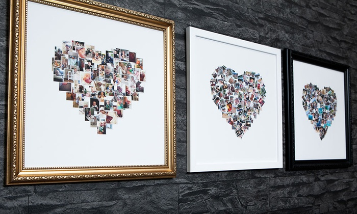 Framed Collage Canvas Prints - MeZoo | Groupon