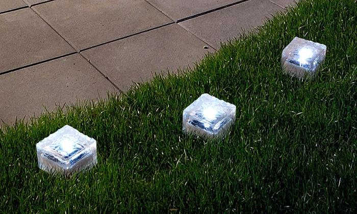 Solar Ice Cube Rock Lights Livingsocial Shop