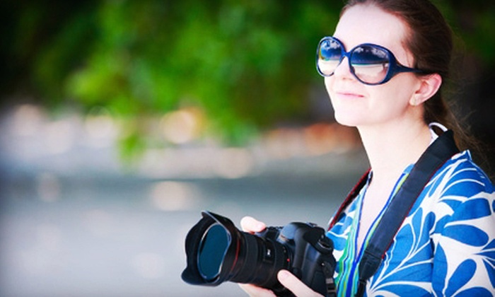 Perfect Memories Photography - Old Town Meridian: Four-Hour Photography Class and Wine Tour for One, Two, or Four at Perfect Memories Photography (Up to 70% Off)