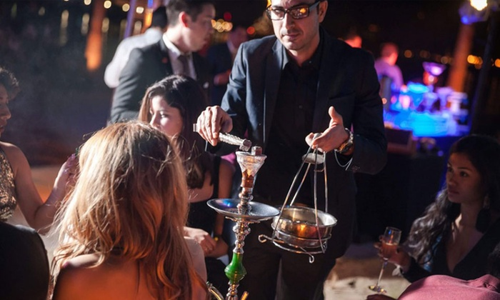 Red Lounge Hookah - Oak View: Hookah, Non-Alcoholic Drinks, and Appetizers for Two or Four at Red Lounge Hookah  (50% Off)