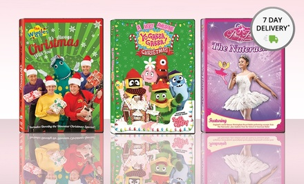 Set of 3 Kids' Holiday DVDs. Free Returns.