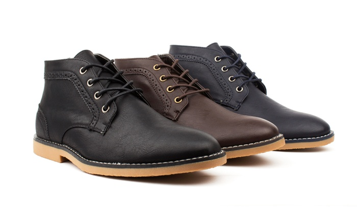 Vincent Cavallo Men's Chukka Boots
