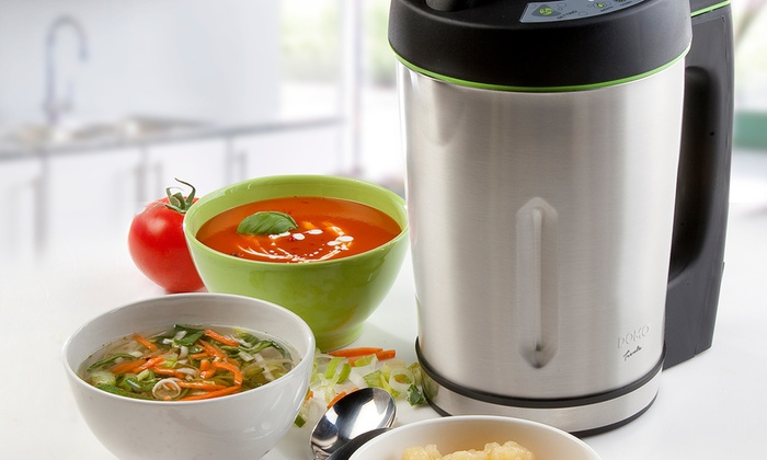 blender soupe maker domo groupon. Black Bedroom Furniture Sets. Home Design Ideas