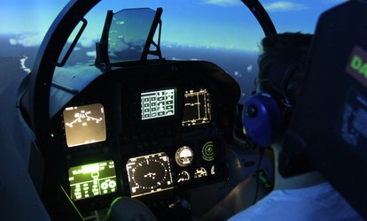 Flight Simulator Experience: 30 ($89), 60 ($129) or 90 Minutes ($189) at Jet Flight Simulator (Up to $399 Value)