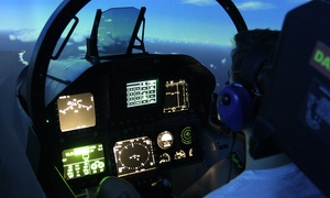 Jet Flight Simulator: 737 or F18 Flight Simulator Experience - 30 ($89), 60 ($129) or 90 Minutes ($189), Alexandria (Up to $399 Value)