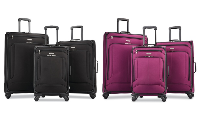 b0feabd32a1d Up To 40% Off on American Tourister Luggage Set | Groupon Goods