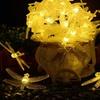 Solar-Powered LED Firefly String Lights