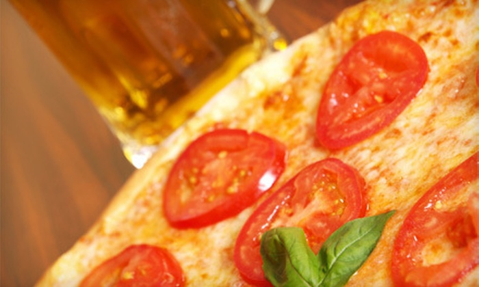 Lamppost Pizza  - Champagne Estates: Pizza Meal for Two or Four with Drinks at Lamppost Pizza in Turlock (Up to 52% Off)