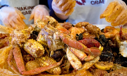 50% Cash Back at Shaking Crab - Brookline - Up to $10 in Cash Back