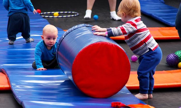 Image result for Flippin Fun Trampoline Park kids