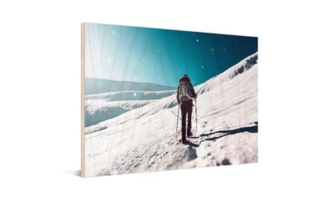 Impresión sobre madera con imagen personalizable en variedad de tamaños a elegir desde 6,99 € con Photo Gifts