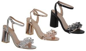 Alaina Women's Heels with Diamonds