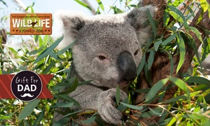 WILD LIFE Sydney Zoo: WILD LIFE Sydney Zoo 2-for-1 Offer - Two Adults for $42 and Two Children for $29.50, Darling Harbour (Up to $84 Value)