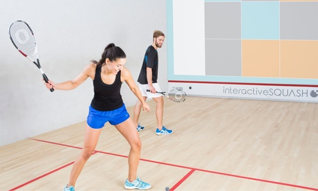 Interactive-Squash inkl. Leihschläger, -ball und Sauna für 2 Pers. im Paderborner Squash Club