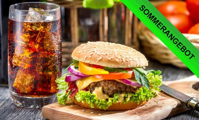 Burger nach Wahl mit Softgetränk für Zwei oder Vier bei Palm Beach (Zentrale) (bis zu 36% sparen*)