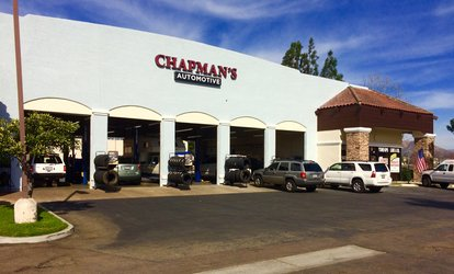 image for Conventional or Synthetic <strong>Oil Change</strong> with Visual Inspection at Chapman's Automotive (Up to 37% Off)