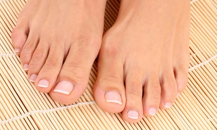 Pedicure met voetmassage bij Elements Beautycentre in Goes
