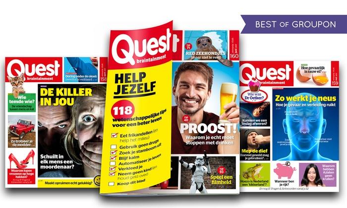 Quest anvers groupon for Abonnement quest