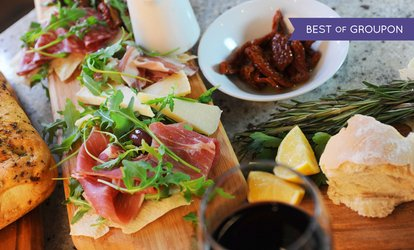 image for Regular or Premium Italian Meal with Wine for One or Two at Il Moro (Up to 60% Off)