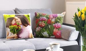 Photo-Gifts: Uno o 2 cuscini personalizzati, con stampa foto effetto lucido o opaco, da 6,99 € (sconto fino a 86%)