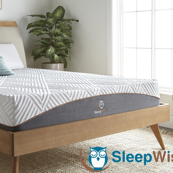 Up To 75 Off On Sleepwise Memory Foam Mattress Groupon Goods
