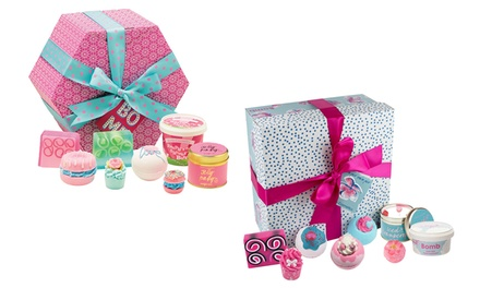 Bomb Cosmetics Pamper Hamper or Bomb Hat Box Supersize Gift Pack
