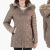 Kenneth Cole Women's Down Coat with Faux-Fur Trim Hood (Size S)