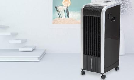 Joal 5-in-1 digitales Klimagerät in Schwarz mit Heiz- und Kühlfunktion, Luftbefeuchter, Ionisator und Diffusor (Statt: 199,98 € Jetzt: 99,00 €)