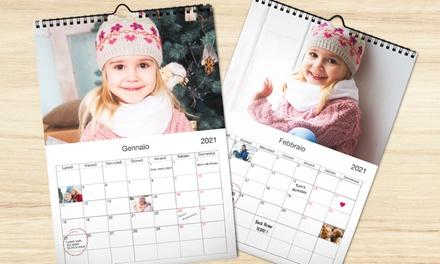 Calendari personalizzabili A3, A4 a 1,99€euro