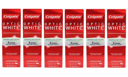 Colgate Optic White Sparkling White Whitening Toothpaste 95g: 6Pack $24 or 12Pack $42 Don't Pay up to $107.88
