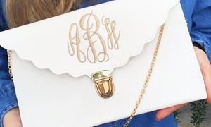 Embellish Accessories and Gifts: Personalized Monogram Purse in 10 colors from Embellish Accessories and Gifts