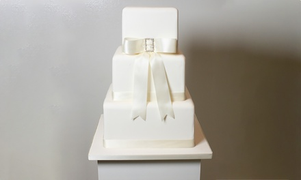 Choice of Three- or Four-Tier Wedding Cake from 3D Cakes (Up to 70% Off)