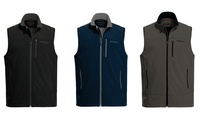 GROUPON: Hawke & Co Men's Wind-Resistant Softshell Fleece Vest Hawke & Co Men's Wind-Resistant Softshell Fleece Vest