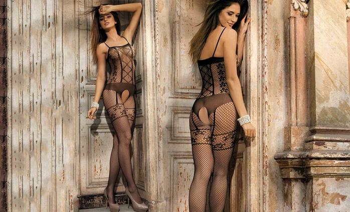 Erotischer Bodystocking in verschiedenen Ausführungen (bis zu 76% sparen*)