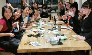 Paint Cabin: Get Creative! Paint Cabin is Toronto's newest Art Bar and Paint Café  (Up to 50% Off). Four Options Available.