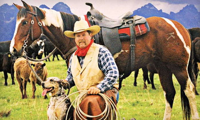 Yosemite Trails Saddle & Sleigh Company - Fish Camp: $39 for a One-Hour Big Creek Horseback Trail Ride for Two from Yosemite Trails Saddle & Sleigh Company ($80 Value)