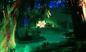 Shipwrecked Miniature Golf: Theatrical Adventure-Themed Indoor Mini Golf for Two, Four, or Up to Five (Up to 43% Off)