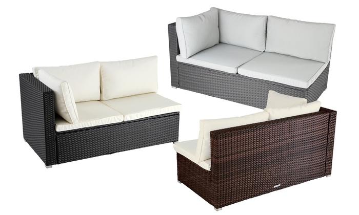 Rattan Corner Sofa Groupon Goods