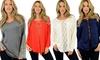 Women's Accented Long-Sleeve Tops: Women's Accented Long-Sleeve Tops