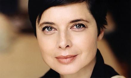 Isabella Rossellini: