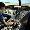 Flugsimulator-Erlebnis
