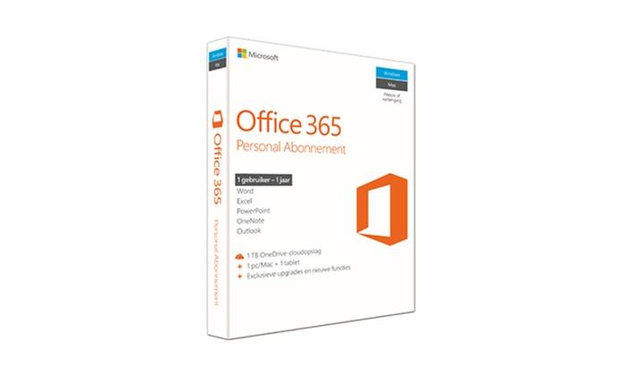 microsoft office pakket