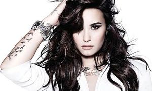 Demi Lovato With Christina Perri And Mkto At Prudential Center On Saturday, October 25 (up To 49% Off)