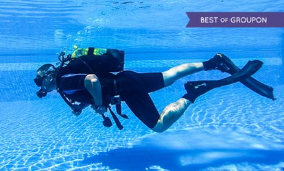 image for PADI Discover Scuba Diving Experience or Referral Course at Robin Hood Watersports (up to 73% off)