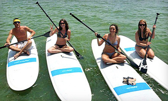 Go Paddle Down - Go Paddle Down: One, Two, or Four Hours of Paddleboard or Kayak Rental at Go Paddle Down in Marble Falls (Half Off)